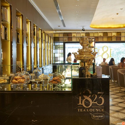 1823 Tea Lounge by Ronnefeldt Gaysorn Village