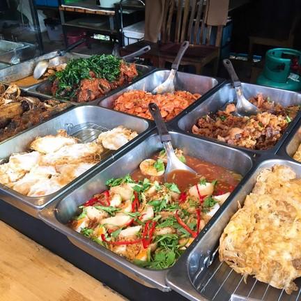ตู้เสบียง 1 (สาขาใหญ่) ข้าวแกงใต้ ขนมจีนน้ำยาปู