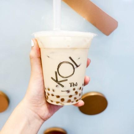 Milk Tea Golden Bubble (70THB)