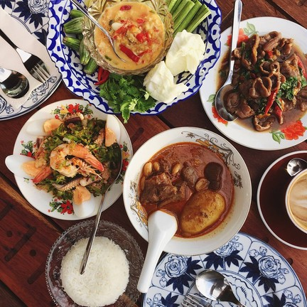 Supanniga Eating Room ท่าเตียน