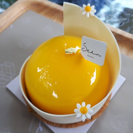 passion fruit mousse cake ฿165