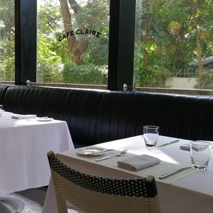 Cafe Claire Oriental Residence Bangkok