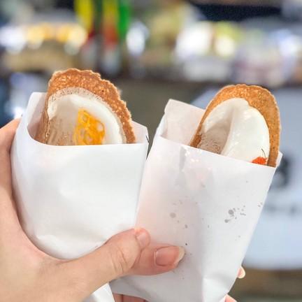 ขนมเบื้องไส้หวาน + เค็ม