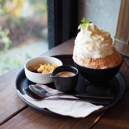 Thai Tea Bingsu