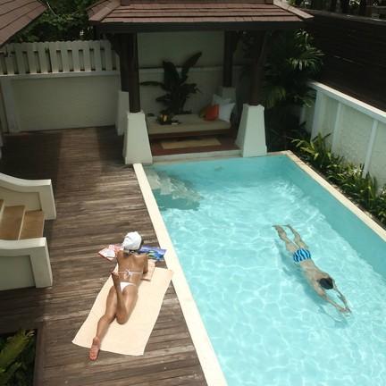 Pool Villa กับสระว่ายน้ำส่วนตัว