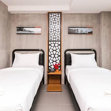 Superior Room  21 sq.m. เตียงเดี่ยว 2 เตียง พักได้ 2 ท่าน