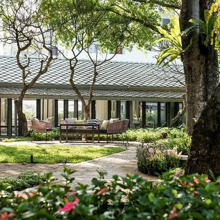 The Raweekanlaya Dining The Raweekanlaya Bangkok Wellness Cuisine Resort