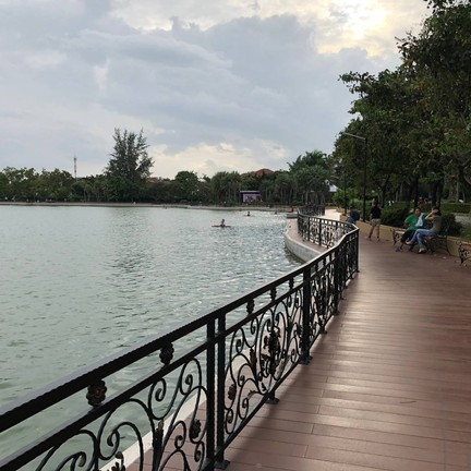 สวนสมเด็จพระศรีนครินทร์ นนทบุรี