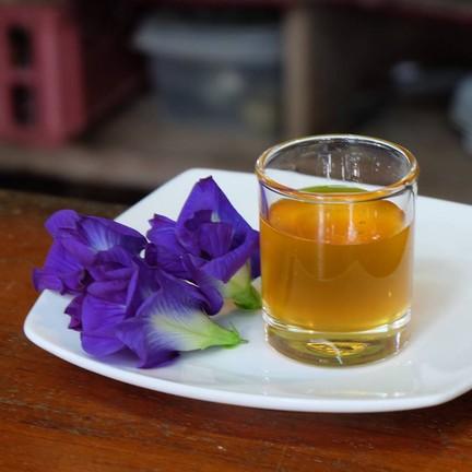 ชาอัญชันมะนาว