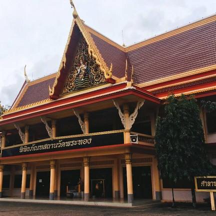 ชั้น 2 ของตัวอาคาร จะเป็นพิพิธภัณฑ์สถานวัดพระทอง