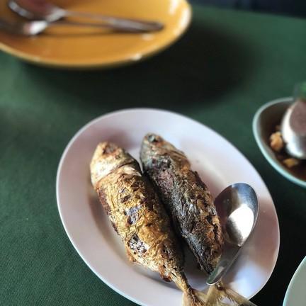 ปลาทูยัดไส้ห่อหมก รสชาติเข้มข้น จัดจ้าน เผ็ดนิดหน่อย