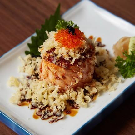Salmon Mentai Sushi Ball