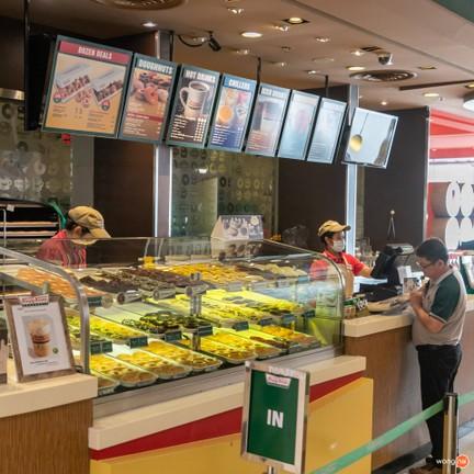 Krispy Kreme ศูนย์การค้าเซ็นทรัลพลาซา แกรนด์ พระราม 9