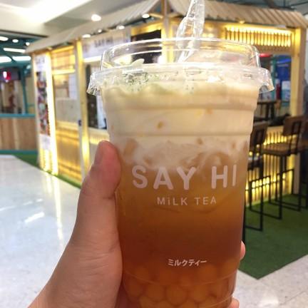 say hi milk tea ไดอาน่าหาดใหญ่