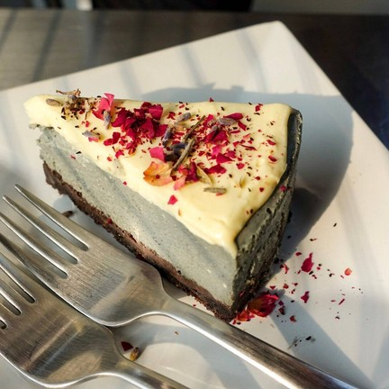 Grey Cheesecake (120THB)