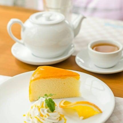 เค้กส้ม สมคำร่ำลือมากกก เนื้อแน่นเว่อร์ เด้งดึ่งมากก😋