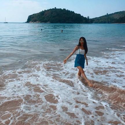 หาดสวยและเงียบสงบ