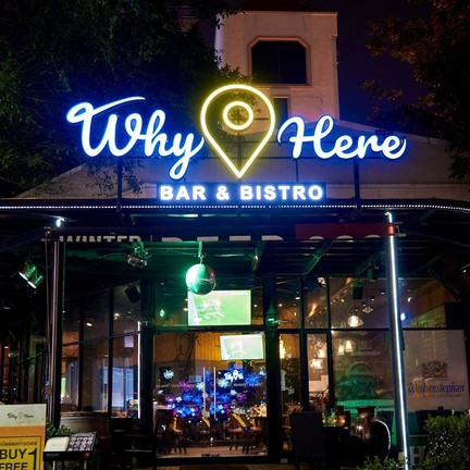 Why Here Bar & Bistro The Avenue Ratchayothin