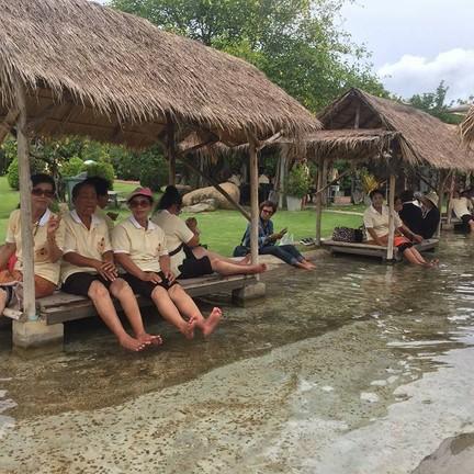 ขอขอบคุณรูปภาพจาก FB บ่อน้ำพุร้อนพระร่วง องค์การบริหารส่วนจังหวัดกำแพงเพชร
