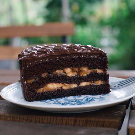 อันนี้แนะนำ อร่อยมากกกก ฟินนน ช็อกโกแลตดี หวานหอม กล้วยก็กำลังดี ไม่เละจนเกินไป