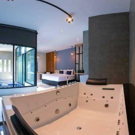 วันนี้ขอแนะนำห้องพักขนาดใหญ่สุดของ Chill D Resort ☑️Type L เป็นห้องพักขนาด 2 bed