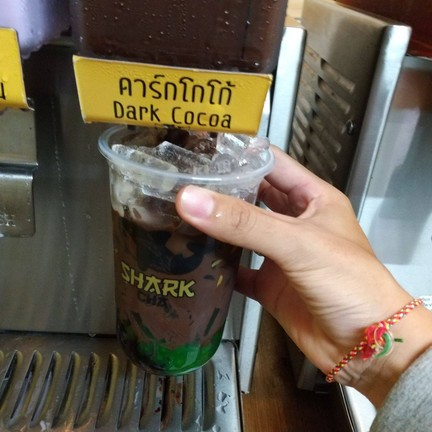 Shark Cha ชานมไข่มุกตักเอง หาดใหญ่