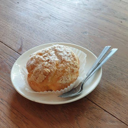 คุกกี้ชูครีมสอดไส้คัสตาร์ดวานิลา หวานน้อย
