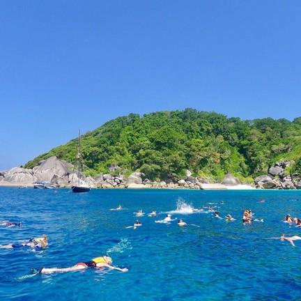 จุดดำน้ำ หมู่เกาะสิมิลัน