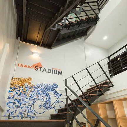 ภาพ : FB Siam Stadium Hostel