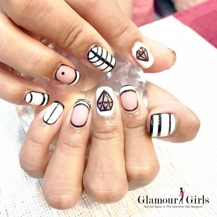 Glamour Girls Nail Art Salon The one park