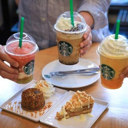 Starbucks Central World โซน Beacon