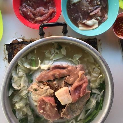 หมูกระทะ เนื้อย่าง ตับ เซี่ยงจี๊