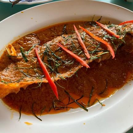 ใช้ปลาน้ำเงินแทน เนื้อนิ่มอร่อยเลย