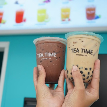 The Tea Time Bubble Milk Tea