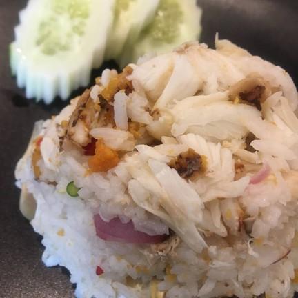 เนื้อปูสดมากกก คลุกเคล้ากับพริกน้ำปลามะนาว รสชาติดีมากคะ