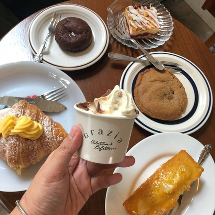 Grazia gelato and coffee