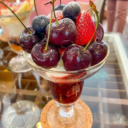 Cherry Parfait