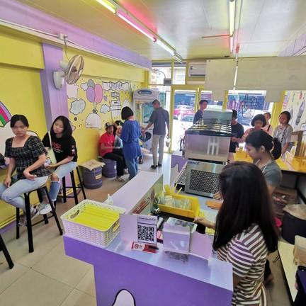 Chafe'@มีนบุรีแก๊งค์ร้านสีเหลืองๆ ตลาดมีนบุรี