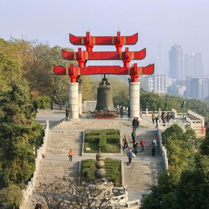 หอกระเรียนเหลือง (Huang He Lou, Yellow Crane Tower)