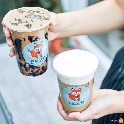 FoxCha Milk Tea ชานมไข่มุกไต้หวัน ลาดพร้าว 128/3