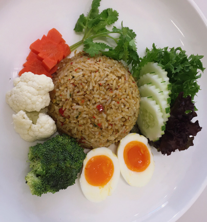 De Red Brick@kkusp ศูนย์อาหารอุทยานวิทยาศาสตร์แห่งชาติ