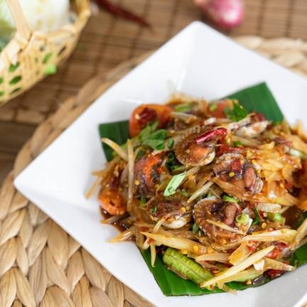 ข้างบ้าน (แอบแซ่บ) อาหารไทยอีสาน