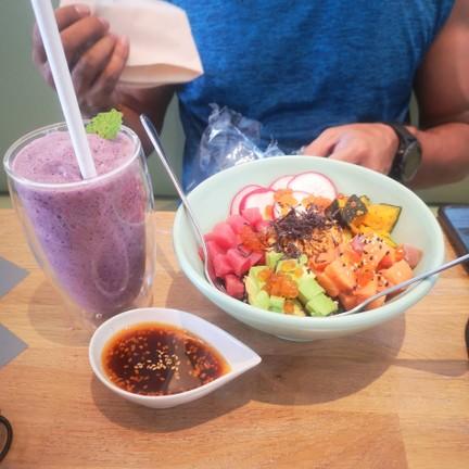 Smoothie blueberry Tokyo bowl