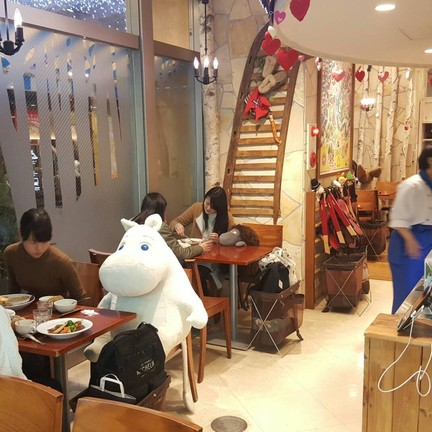 Moomin House Cafe Tokyo Sky Tree