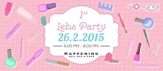 Beauty Party : พาไปทาเล็บสวยๆ เก๋ๆ ที่ Happening Nail Spa & Cafe