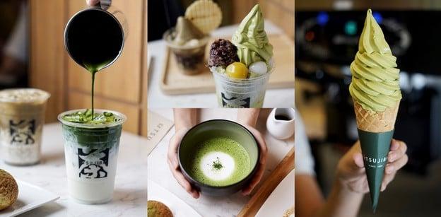 """TSUJIRI"" (ซึจิริ) ร้านชาเขียวเกรดพรีเมียม ส่งตรงจากญี่ปุ่น!"