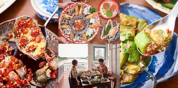 """[รีวิว] """"จางวางอิ่ม"""" ร้านอาหารไทยสารพัดเมนูซีฟู้ดวิวแม่น้ำเจ้าพระยา"""