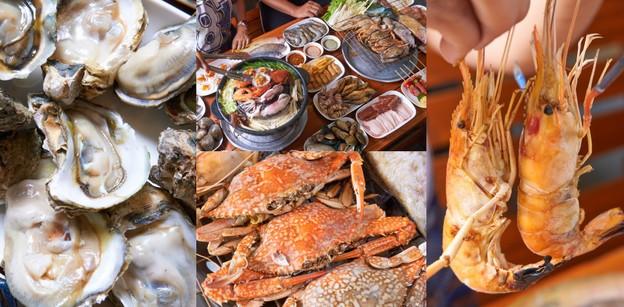 [รีวิว] ภูเก็ตซีฟู้ดบุฟเฟ่ต์ อาหารทะเลจัดเต็ม กินจนร้านปิดก็แค่ 199 บ.