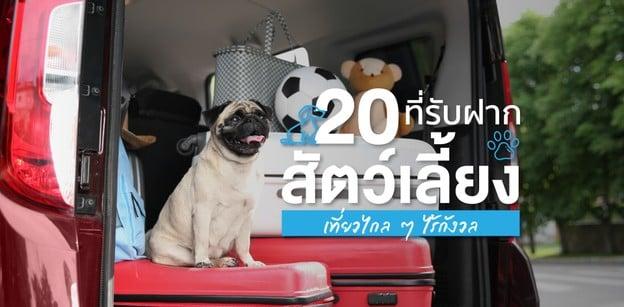 12 ที่รับฝากสัตว์เลี้ยง เที่ยวไกลได้ ไม่ต้องมีห่วง