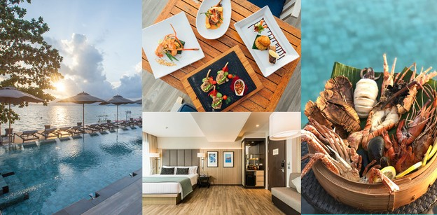 My Beach Resort Phuket ดื่มด่ำบรรยากาศแสนสงบและอาหารเลิศรสวิวหาดพันวา